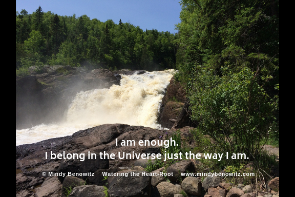 Greeting Card:  I Belong in The Universe